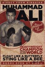 Muhammad Ali - Vintage art print poster transferred to canvas