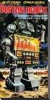 Battery Operated Piston Robot art print poster with block mounting