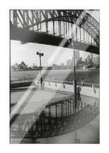Bridge in a Puddle art print poster with laminate