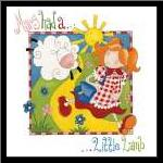 Mary Had a Little Lamb art print poster with simple frame