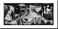 Guernica art print poster with block mounting