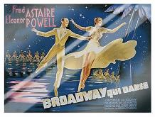 Broadway art print poster with laminate