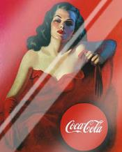 Coca-Cola art print poster with laminate