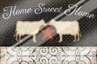 Country Kitchen - Home Sweet Home art print poster with laminate