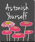 Astonish Yourself II art print poster with block mounting