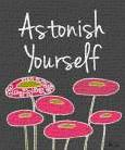 Astonish Yourself II art print poster transferred to canvas