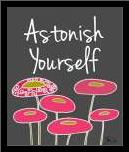 Astonish Yourself II art print poster with simple frame