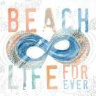 Beach Life art print poster with laminate