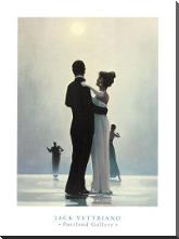 Dance Me To The End Of Love art print poster with block mounting