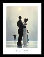 Dance Me To The End Of Love art print poster with simple frame