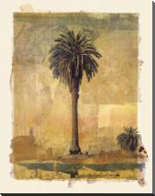 Palm Study #1 art print poster with block mounting