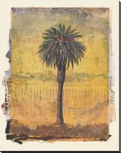 Palm Study #2 art print poster with block mounting