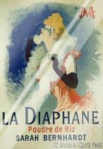 La Diaphane art print poster with laminate