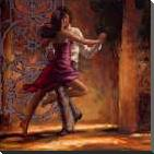 Dance Me In art print poster with block mounting