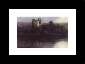 Castle Kilarney art print poster with simple frame