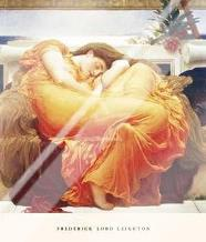 Flaming June art print poster with laminate