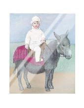 Paulo on a Donkey art print poster with laminate