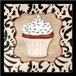 Piece of Cake II art print poster with simple frame