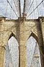 Brooklyn Bridge art print poster transferred to canvas