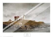Nubble Light art print poster with laminate