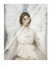 Angel art print poster with laminate