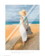Looking to Sea art print poster with laminate