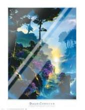 World Just Beyond Your Dreams art print poster with laminate