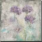MEADOW FLOWERS III art print poster with block mounting