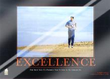 Excellence (Robert Harvey) art print poster with laminate