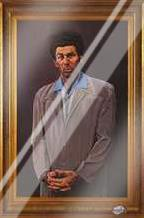 Kramer art print poster with laminate