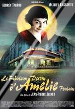 Amelie art print poster with laminate