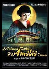 Amelie art print poster with simple frame