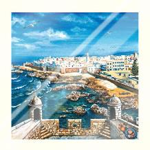 Essouria - Morocco art print poster with laminate