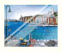 Portovenere art print poster with laminate