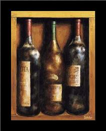 Straight From The Cellar I art print poster with simple frame