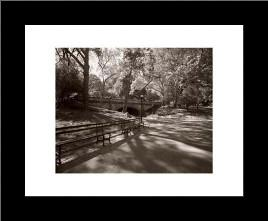 May in Manhattan I art print poster with simple frame