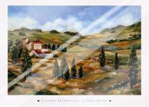 Chianti Afternoon I art print poster with laminate