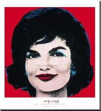 Jackie, 1964 art print poster with block mounting