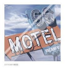 66 Motel art print poster with laminate