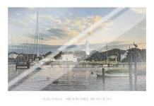 Ocracoke Memories art print poster with laminate