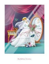 Cinderella - My Perfect Wedding art print poster with laminate