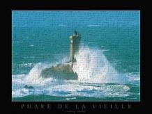 Phare De La Vieille art print poster transferred to canvas