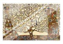 Tree Of Life - Stoclet Frieze art print poster with laminate