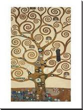 Tree Of Life art print poster with block mounting
