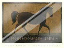 Horseshoe Inn art print poster with laminate