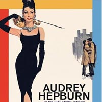 Audrey Hepburn - Breakfast At Tiffanys poster