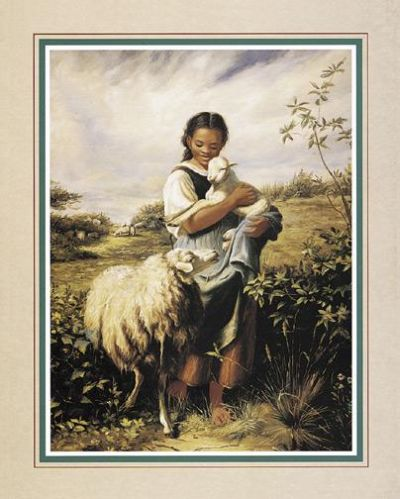 Tending The Sheep poster print by  Unknown