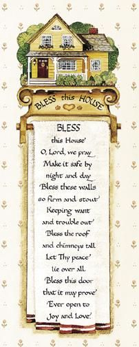 Bless poster print by Jb Grant