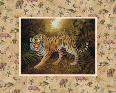 Safari - Tiger poster print by Tc Chiu
