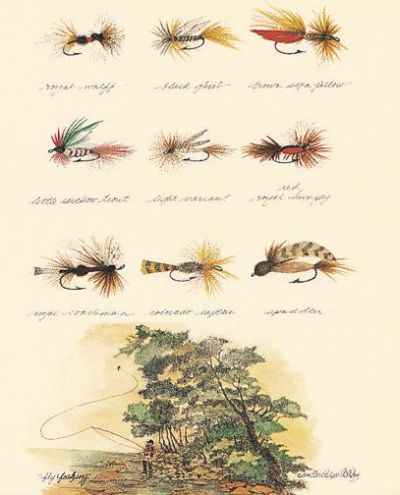 Fly fishing terri blehm art prints posters for Fly fishing posters
